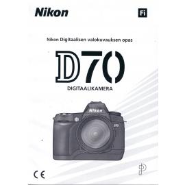 Nikon D70 - Instructions (FI)