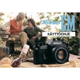 Nikon EM - Käyttöohje (FI)