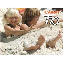 Canon T70 käyttöohje