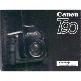 Canon T90 käyttöohje