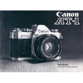 Canon AT-1 instruction manual (FIN)