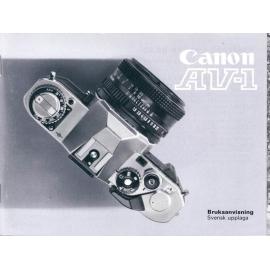 Canon AT-1 Bruksanvisning