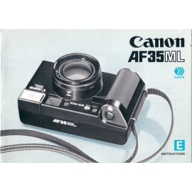 Canon AF35ML - Instructions
