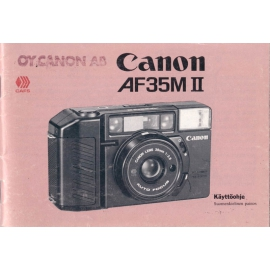 Canon AF35M II - Instructions
