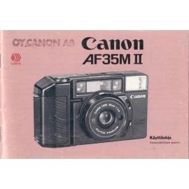 Canon AF35M II - Käyttöohje