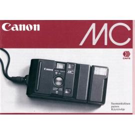Canon MC - Käyttöohje