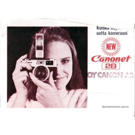 Canon Canonet 28 - Käyttöohje