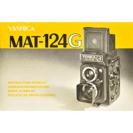 Yashica Mat-124G Instruction Booklet