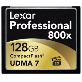LEXAR 128GB Professional 800x  CF