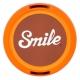 Smile 58mm lens cap - 70's Home