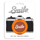 Smile 58mm lens cap - 70's Home