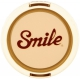 Smile 67mm lens cap - Retro