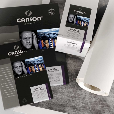 Canson Infinity Baryta Photographique 310 gsm A4