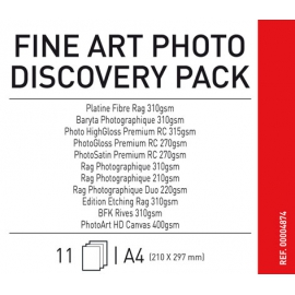 Canson Infinifty Fine Art Photo Discovery Pack A4/11