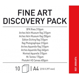 Canson Infinifty Fine Art Discovery Pack A4/10
