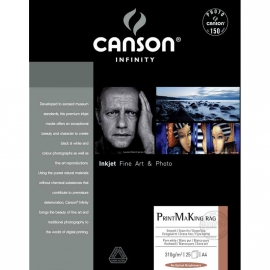 Canson Infinity PrintMaKing Rag 310g A4/25