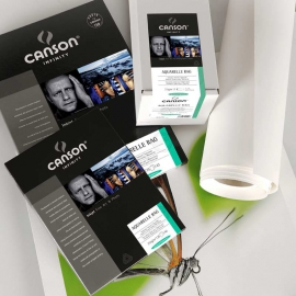 Canson Infinity Aquarelle Rag 240g - A3+/25