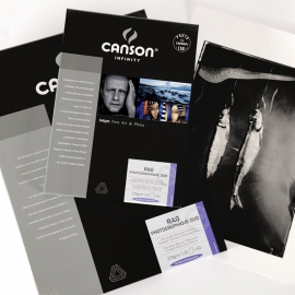Canson Infinity Rag Photographique Duo 220g - A4/10