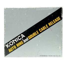 Konika Auto Ring and Double Cable Realase