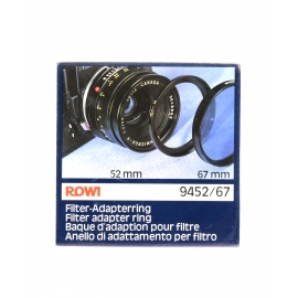 ROWI Filter Adapter Ring 52→67mm