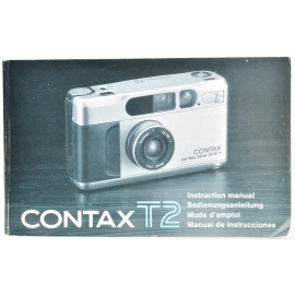 CONTAX T2 Instruction Manual