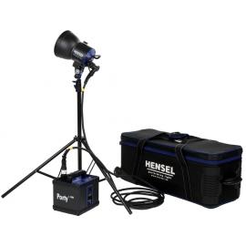 Hensel Porty L 1200 LED KIT akkukäyttöinen studiosalamasetti