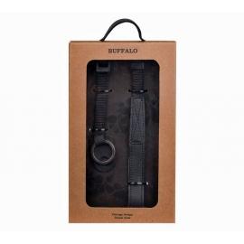 Classic Leather Camera Strap GEAR Buffalo - Black