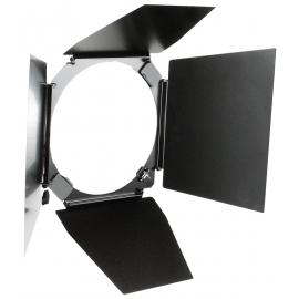 "Hensel 4-wing Barndoor for 7"" Reflector 18 cm"