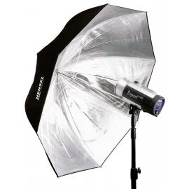 Hensel-sateenvarjoheijastin 135 cm PLX (hopea)