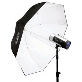 Hensel-sateenvarjoheijastin PLX 135 cm (valkoinen)