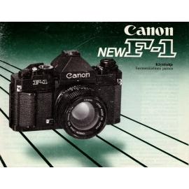 Canon New F-1 käyttöohje