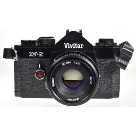Vivitar XV-2 + Vivitar 50mm f/2 Auto