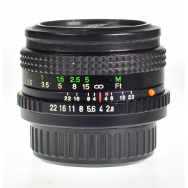 Vivitar 35mm f/2.8 VMC - Pentax K