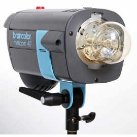 Broncolor Minicom 40 RFS studio flash