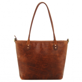 ONA Capri - Camera bag - Antique Cognac Leather