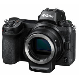 Nikon Z7 body + FTZ mount adapter