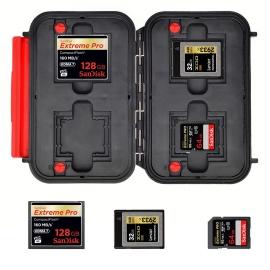 HPRC 1300 muistikorttikotelo - vesitiivis ja iskunkestävä