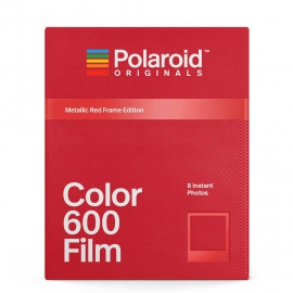 Polaroid Originals Color 600 - Metallic Red Frame Edition