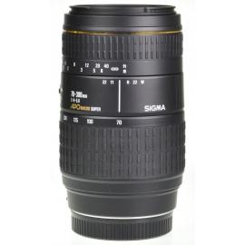 Sigma AF 70-300mm f/4-5.6 APO Macro Super - Sony/Minolta