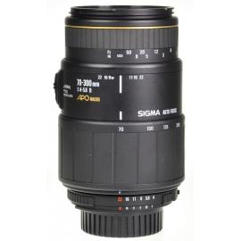 Sigma AF 70-300mm f/4-5.6 APO Macro - Nikon