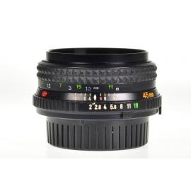 Minolta MD Rokkor 45mm f/2
