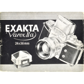 Exakta Varex IIa instructions (DE)