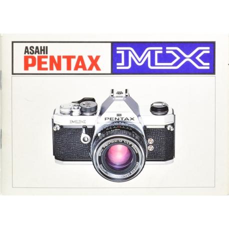 Pentax MX instructions (FIN)