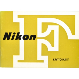 Nikon F instruction manual (FIN)