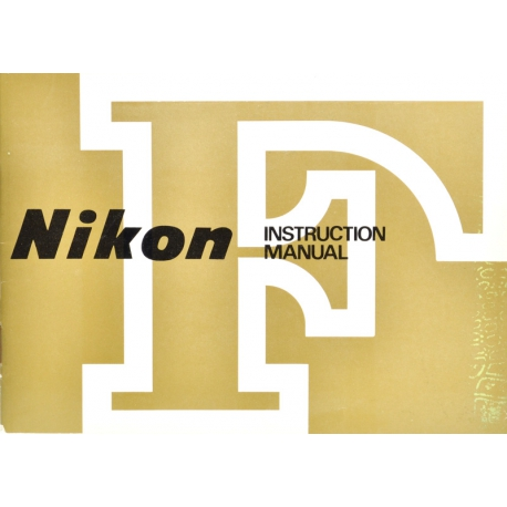 Nikon F instruction manual (ENG)