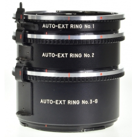 Mamiya M645 extension tube set