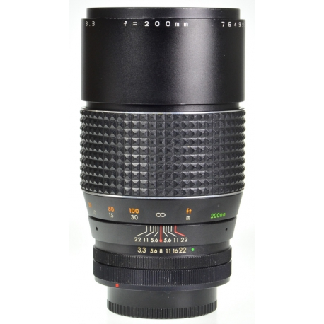 Auto Makinon 200mm f/3.3 - Canon FD