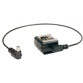 Kaiser 1301 Hot Shoe Flash Adaper With Cable
