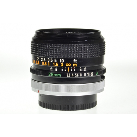 Canon FD 28mm f/2.8 S.C.