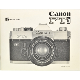 Canon FTb instructions (ENG)